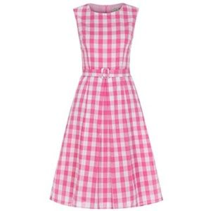 Lindy Bop Gingham Dress size UK 18